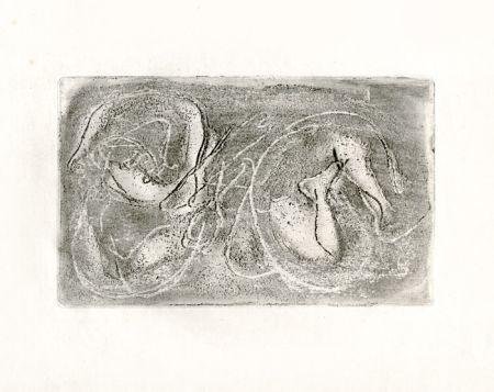 エッチング Fautrier - La femme morte (Fautrier l'enragé)
