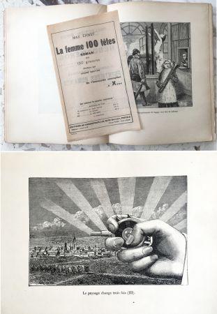 挿絵入り本 Ernst - LA FEMME SANS TÊTE. Paris, 1929