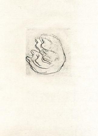 エッチング Fautrier - La femmes aux seins