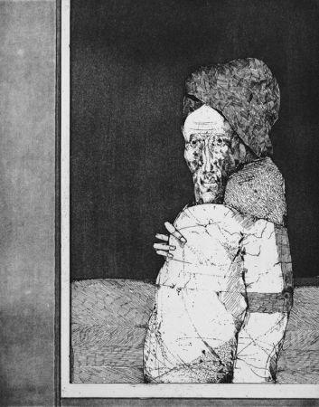 エッチング Plattner - La finestra