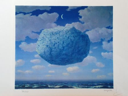 リトグラフ Magritte - La Flèche de Zénon