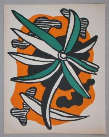 リトグラフ Leger - La Fleur