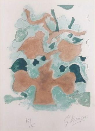 リトグラフ Braque - La Forêt