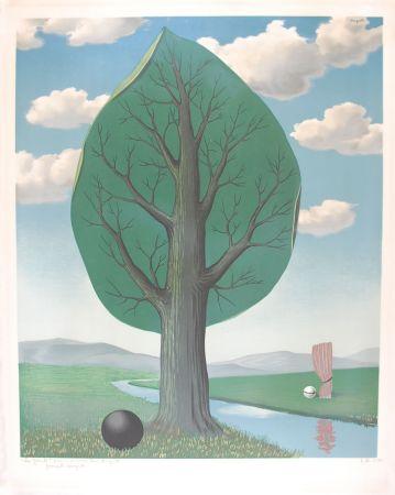 リトグラフ Magritte - La Géante