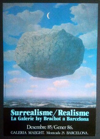 掲示 Magritte - LA GALERIE ISY BRACHOT A BARCELONA - MAEGHT 1986