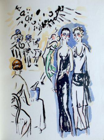 ステンシル Van Dongen - La Garconne, At The Party