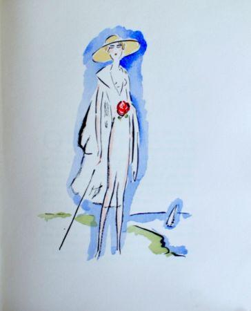ステンシル Van Dongen - La Garconne, Woman With Cane