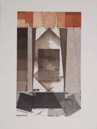 エッチングと アクチアント Pomodoro - La geometria prattica