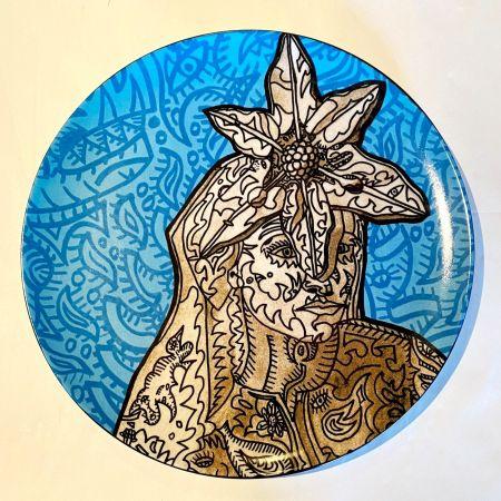セラミック Combas - La Gitane magicienne