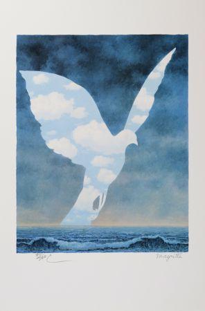 リトグラフ Magritte - La Grande Famille