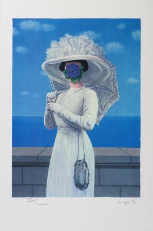 リトグラフ Magritte - La Grande Guerre (The Great War)