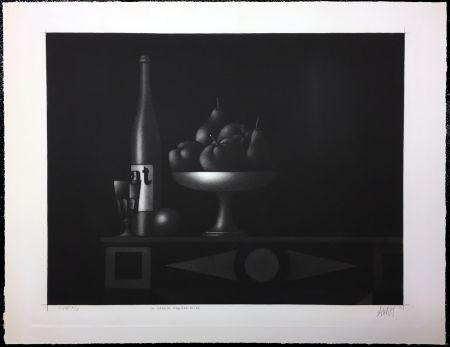 メゾチント彫法 Avati - La Grande Manière Noire (1962)