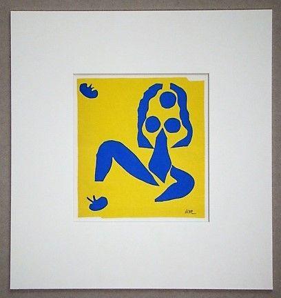 リトグラフ Matisse - La Grenouille
