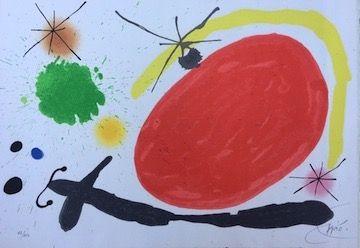 リトグラフ Miró - La Japonaise