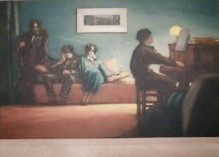 アクチアント Guilbert - La leçon de piano