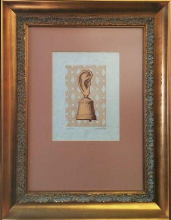 彫版 Magritte - LA LECON DE MUSIQUE