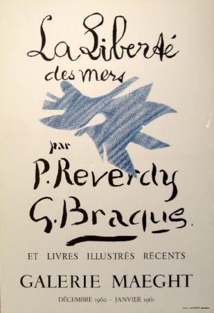 リトグラフ Braque - La Liberté des mers