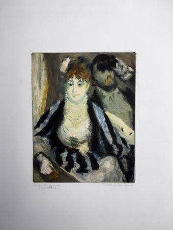 アクチアント Renoir - LA LOGE (d'après Pierre-Auguste Renoir, gravé par Jacques Villon)