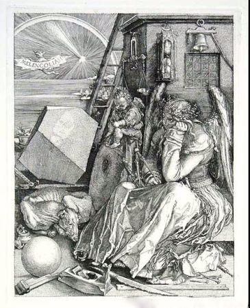 彫版 Durer - La mélancolie