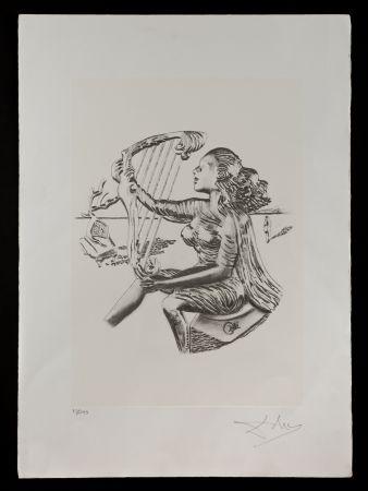 リトグラフ Dali - La música