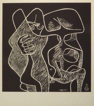 リトグラフ Le Corbusier - La mer est toujours présente