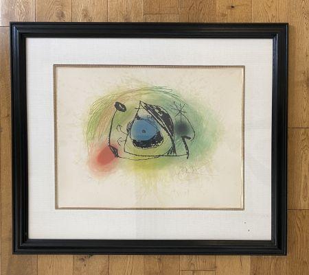エッチングと アクチアント Miró - La Musaraigne (