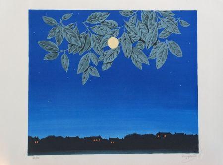 リトグラフ Magritte - La Page Blanche