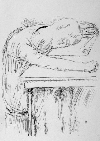 リトグラフ Bonnard - La pausa