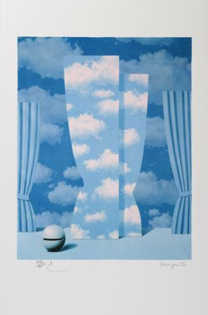 リトグラフ Magritte - La Peine Perdue