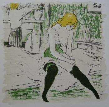 挿絵入り本 Bonfils - La petite Jeanne pâle