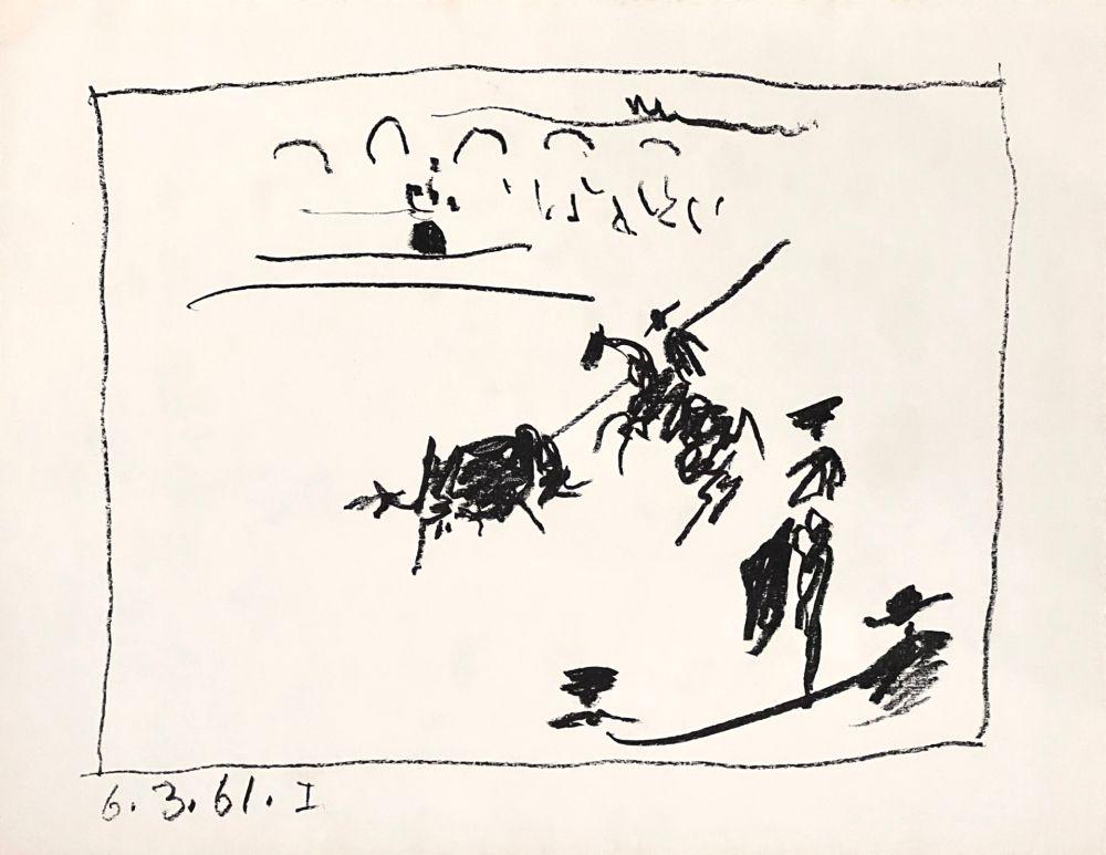 リトグラフ Picasso - La Pique