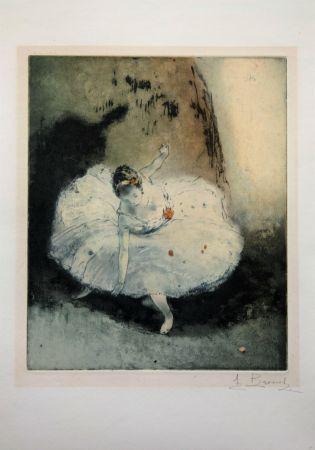 エッチングと アクチアント Brouet - La pirouette