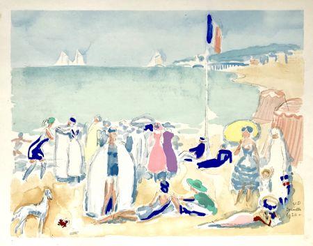 ステンシル Van Dongen - La Plage 1920