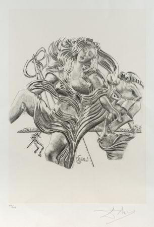リトグラフ Dali - La poesía