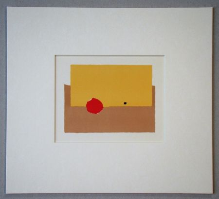 リトグラフ De Stael - La Pomme - 1952