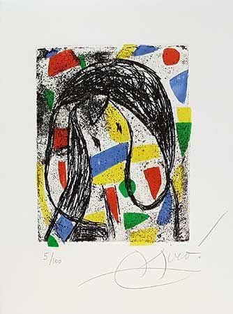 彫版 Miró - La Révolte Des Caractères