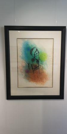 エッチングと アクチアント Miró -  La Rainette