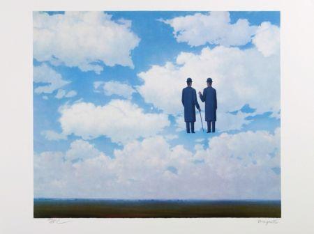 リトグラフ Magritte - La Reconnaissance Infinie