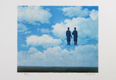 リトグラフ Magritte - La Reconnaissance Infinie (The Infinite Recognition)