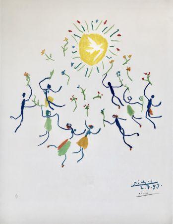 リトグラフ Picasso - La Ronde De La Jeunesse (Edition: 200)
