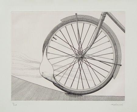エッチング Malaval - La roue