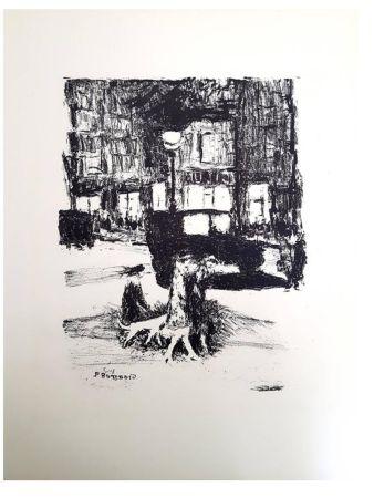 リトグラフ Bonnard - La Rue