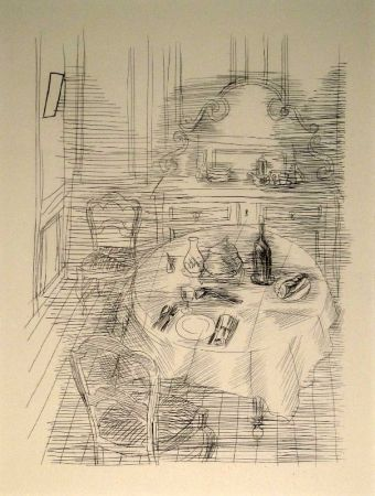 彫版 Dufy - La Salle à manger