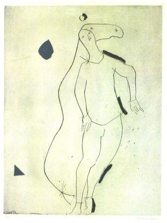 エッチングと アクチアント Marini - La Sorpresa I, from Personaggi, Plate III