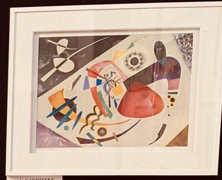 リトグラフ Kandinsky - La tâche rouge