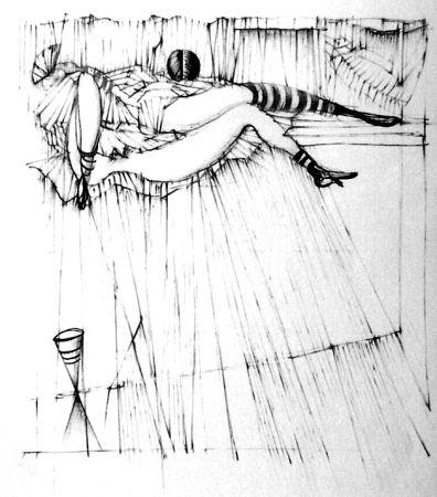 エッチング Bellmer - La toupies