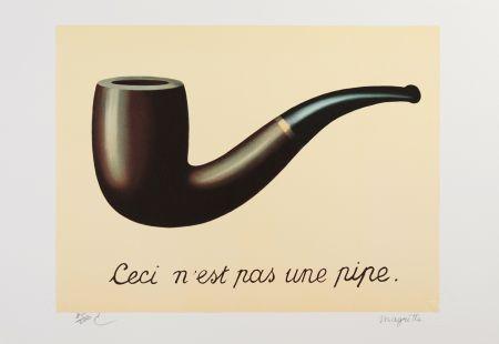 リトグラフ Magritte - La Trahison des Images