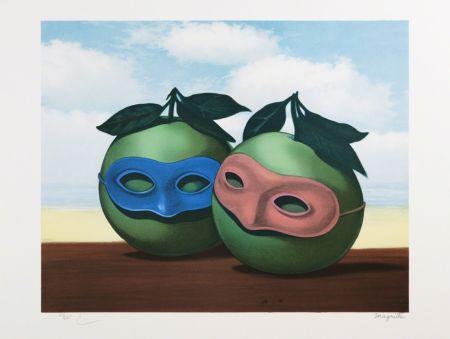 リトグラフ Magritte - La Valse Hésitation