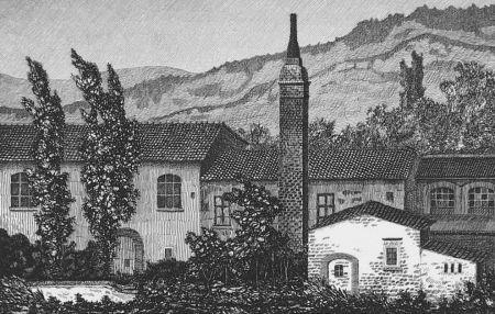 エッチング Mongatti - La vecchia fornace