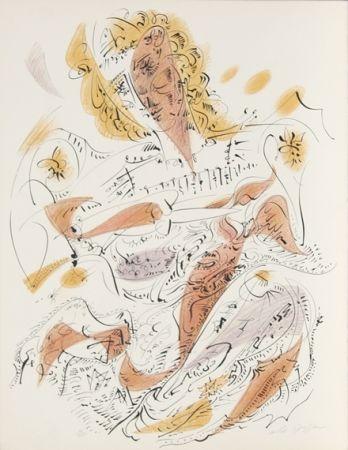リトグラフ Masson - La Venitienne from Je Reve Portfolio